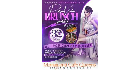 PURA VIDA BRUNCH PARTY SUNDAY SEPT 8th- MAMAJUANA CAFE QUEENS , New York, New York