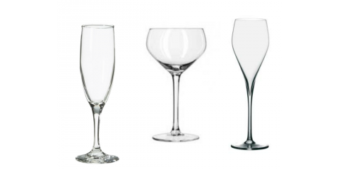 Learn About Three Popular Champagne Glasses From Bubble Lounge®, Manhattan, New York