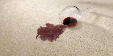 How to Save Your Carpet From a Red Wine Stain, Onalaska, Wisconsin