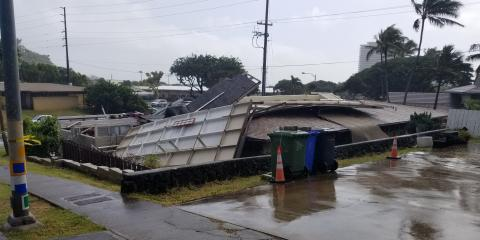 Common Roof Damage Revealed in Building Inspections, Honolulu, Hawaii