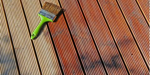 The Best Time of Year for Deck Staining, Burnsville, Minnesota