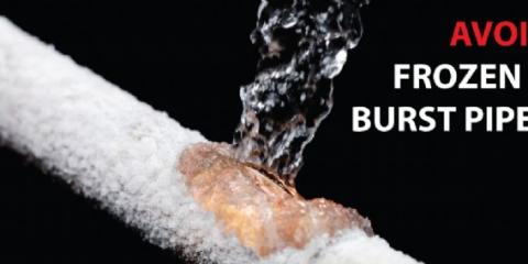 How to avoid Frozen Pipes, Hudson, Ohio