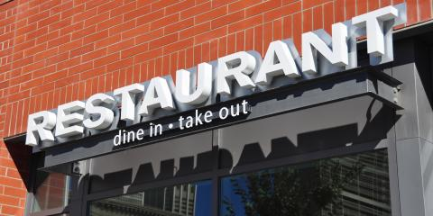 3 Tips for Designing a Sign for Your Restaurant, Mount Washington, Kentucky