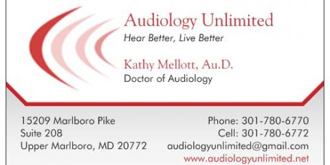 New Location for Audiology Unlimited-Upper Marlboro, 21, Berwyn, Maryland