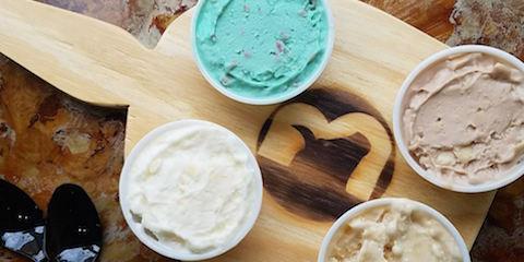 Buzzed Bull Creamery Releases March Ice Cream Flight Flavors, Cincinnati, Ohio