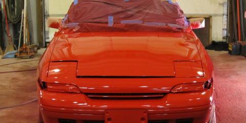 Premier Honolulu Auto Body Shop Explains the Car Painting Process, Honolulu, Hawaii