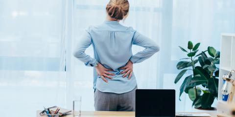 How to Relieve Back Pain From a Desk Job, Cahokia, Illinois