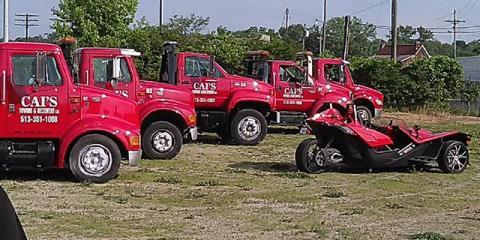 During Winter, Keep the Number for Cincinnati's Tow Truck Service Close, Cincinnati, Ohio