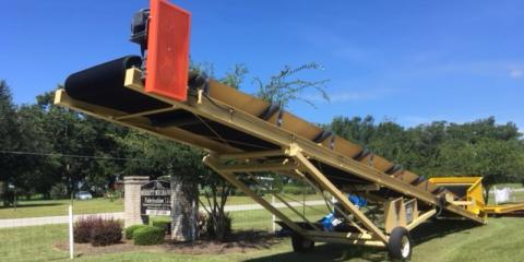 Introducing the 4845 T.I. Portable Belt Conveyor System, Cairo, Georgia