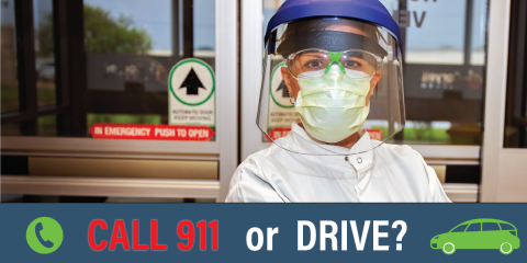 Getting to the ER: Should You Drive or Call 911? , Gatesville, Texas
