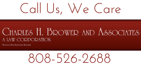 Charles H. Brower Law Corporation, Attorneys, Services, Honolulu, Hawaii