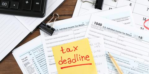 Tax Extension Deadline Approaching Soon, Mountain Home, Arkansas