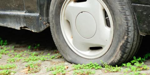 5 Common Flat Tire Culprits, Tomah, Wisconsin