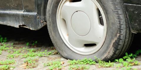5 Common Flat Tire Culprits, Tomah, Wisconsin