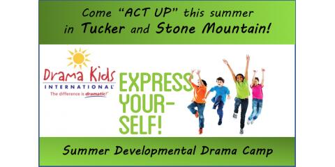 Drama Kids 2015 Summer Camp Schedule, Tucker, Georgia