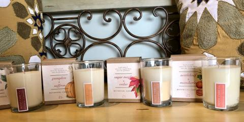 Henny Faire Co. botanical Candles - 2 for $22, St. Charles, Missouri