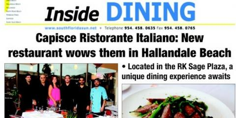 New Italian Restaurant is the WOW of the moment in Hallandale, FL, Hallandale Beach, Florida