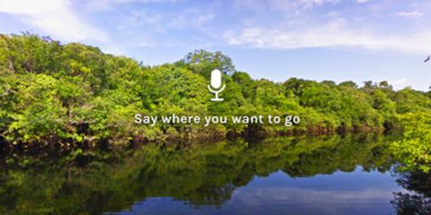 Google allows you to explore the work with your voice., Tulsa, Oklahoma