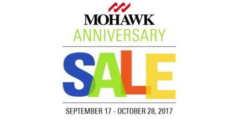 Join Us for the Mohawk Anniversary Sale! Ends October 28th!, Holmen, Wisconsin