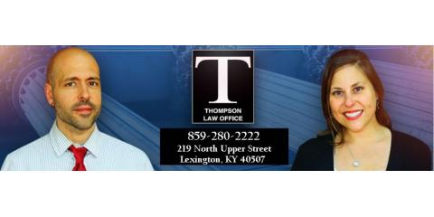 Thompson Law Office, Criminal Law, Services, Lexington, Kentucky