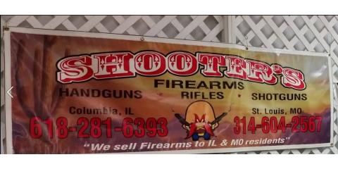 Shooter's Firearms & Indoor Range, Guns & Gunsmiths, Shopping, Columbia, Illinois