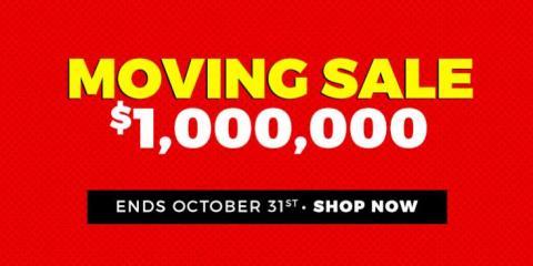 ONE MILLION DOLLAR MOVING SALE!, Dallas, Texas