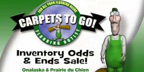 Carpets To Go Odds And Ends Sale Extended, Onalaska, Wisconsin
