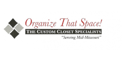 Organize That Space, Closet Organization, Services, Columbia, Missouri