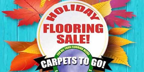 Carpets to Go - Holiday Flooring Sale, Prairie du Chien, Wisconsin