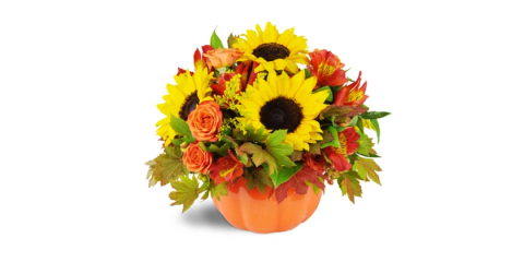 Halloween is The Perfect Holiday For a Bouquet of Flowers!, Brooklyn, New York