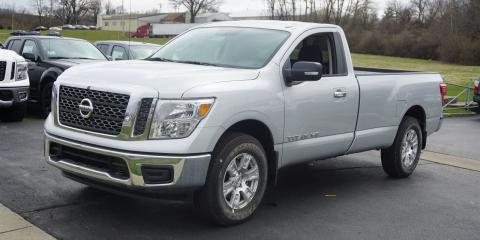 A Closer Look At The 2018 Nissan® Titan, Cincinnati, Ohio