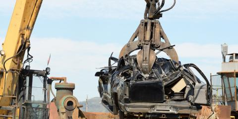 Salvage Specialists Explain the Car Recycling & Crushing Process & Its Benefits, High Point, North Carolina