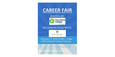 Career Fair Hosted by Provident Village at Canton, ,