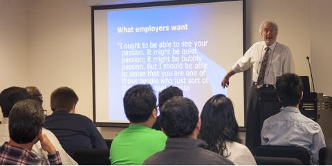 College Career Night a Hit at Touro College GST, Manhattan, New York