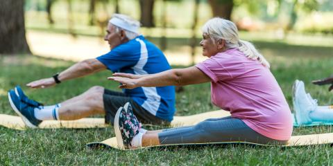 3 Stretches That Are Beneficial for Seniors, St. Louis, Missouri