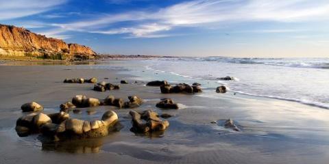 Carlsbad Real Estate Broker Rada Ann Labe Guides Prospective Buyers to Their New Home, Encinitas, California