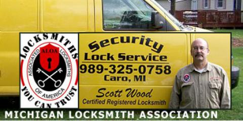 Top 4 Reasons To Call The Locksmiths at Security Lock Service in Caro, MI, Almer, Michigan