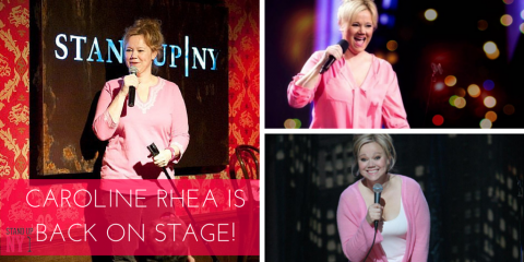 Just In - Caroline Rhea On Stage Tomorrow 5/8/15, Manhattan, New York