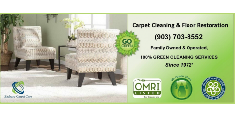 Green carpet cleaning , Dallas, Texas