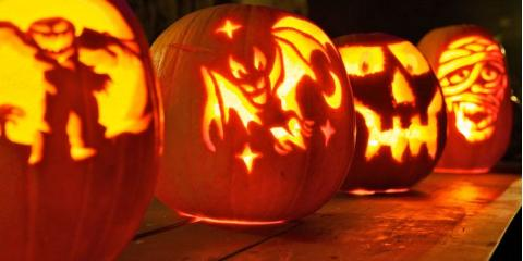 Pumpkin Carving with your Family Dentist, Chesaning, Michigan