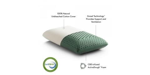 New CBD Pillows in Stock Now at Sleep Central!, Minocqua, Wisconsin