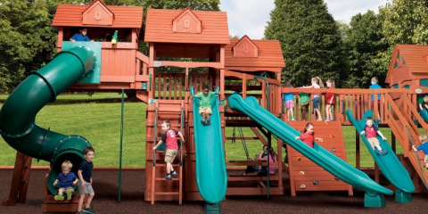 Cedar Vs. Redwood Play Sets: Quality Options for Fun, Nolensville, Tennessee