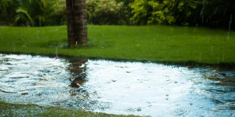 How to Fix Standing Water in Your Yard, Centerville, Ohio