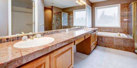 3 Types of Stone Countertops for the Bathroom, Centerville, Ohio