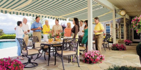 4 Benefits of Retractable Awnings, Groveland-Mascotte, Florida