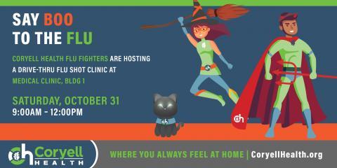 Halloween Drive-Thru Flu Shot Clinic, ,