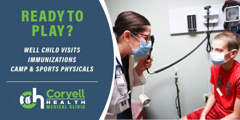 Schedule Your Child's Sports Physical , Gatesville, Texas