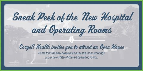 Coryell Health Hosts New Hospital Open House, Gatesville, Texas