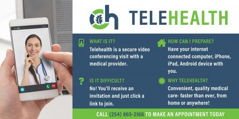 Telehealth-Convenient, Quality Medical Care- Faster Than Ever, From Home or Anywhere!, Gatesville, Texas