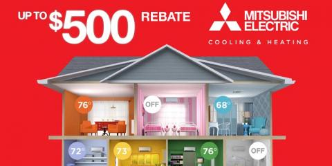 Up to $500 Off Mitsubishi Electric® Appliances this Fall!, Goshen, New York